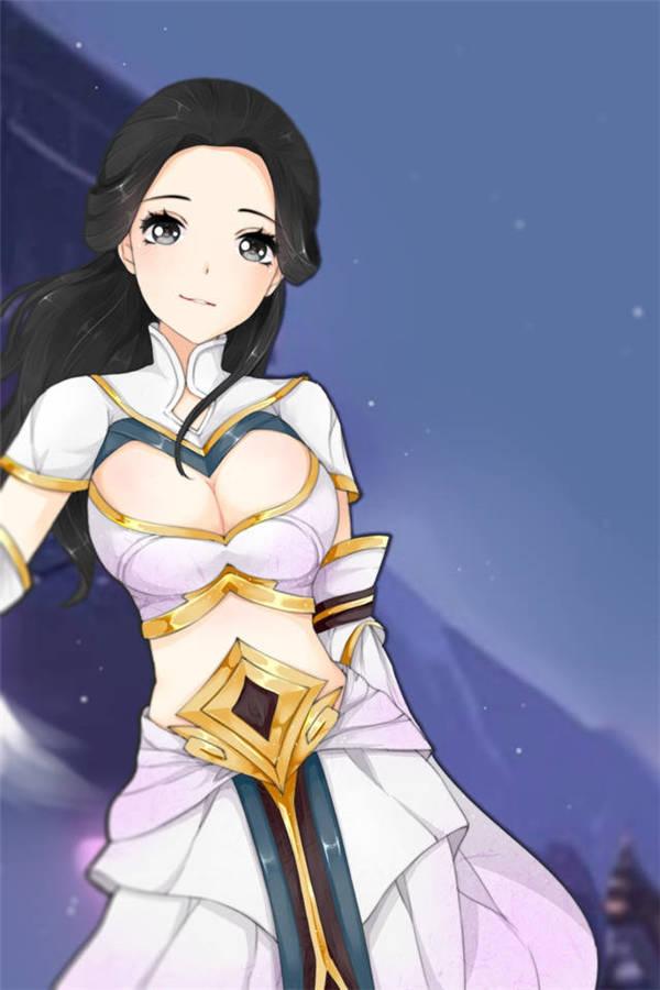 王者荣耀露娜福利h漫画