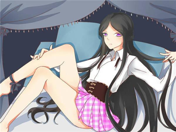 王者荣耀露娜同人漫画 着短裙很好看