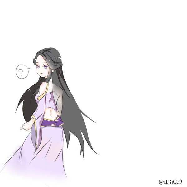 王者荣耀紫霞仙子露娜手绘漫画