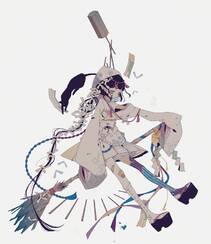 日式黑暗风格插画图片,插画师しきみ的黑童话作品组图12