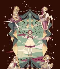 日式黑暗风格插画图片,插画师しきみ的黑童话作品组图3