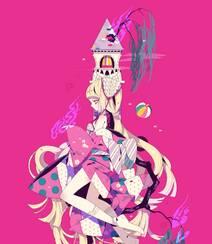 日式黑暗风格插画图片,插画师しきみ的黑童话作品组图7