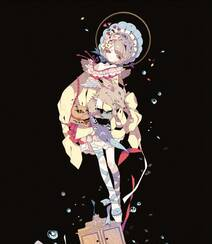 日式黑暗风格插画图片,插画师しきみ的黑童话作品组图11