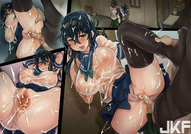 SAIGA堂 ずぶ濡れ制服娘に媚薬を饮ませて连続中出し~るみちゃんは欲求不満~